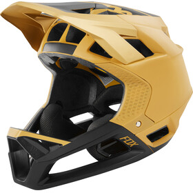 Fox Proframe Matte Full Face Helmet Men gold